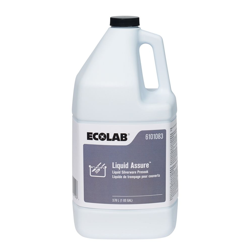 Ecolab® Assure® Liquid Presoak & Silver Detarnisher 1 Gallon #6101083