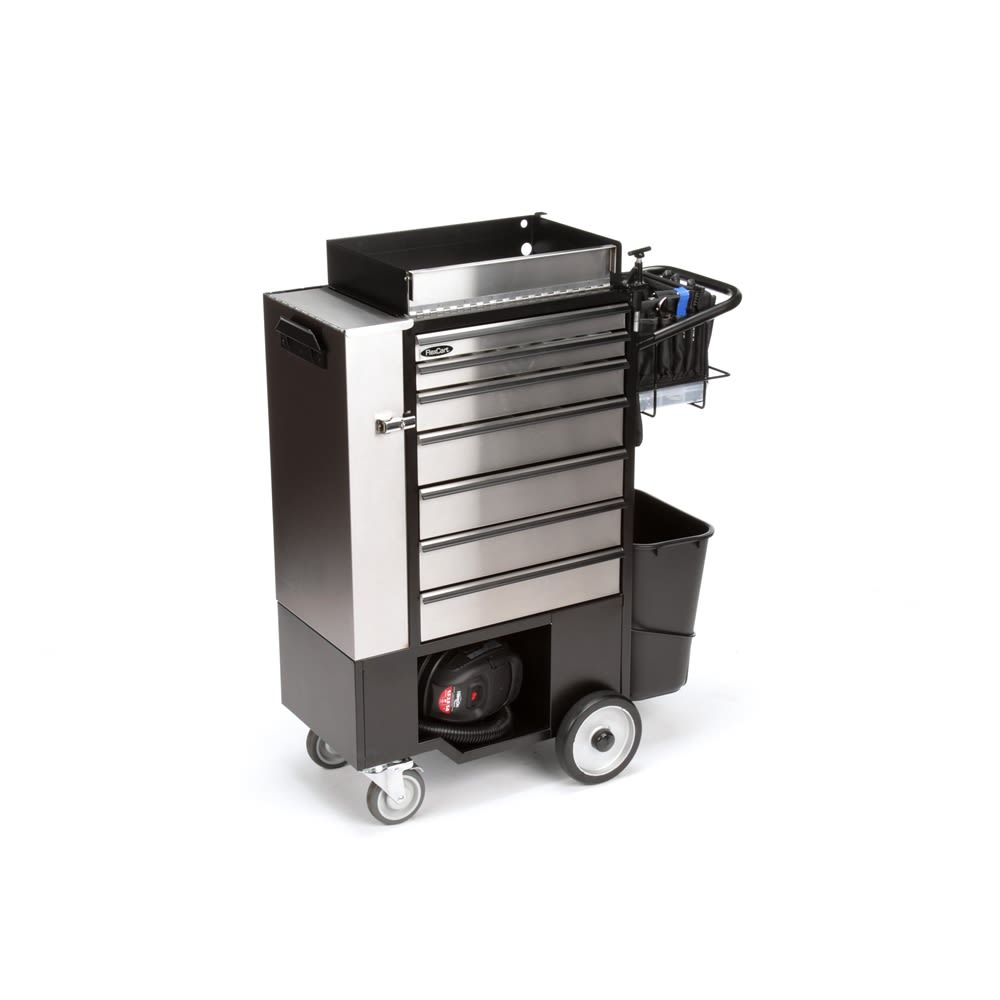 FlexCart® Engineering Cart with All Tools, Stainless Steel (FC-100WAT)