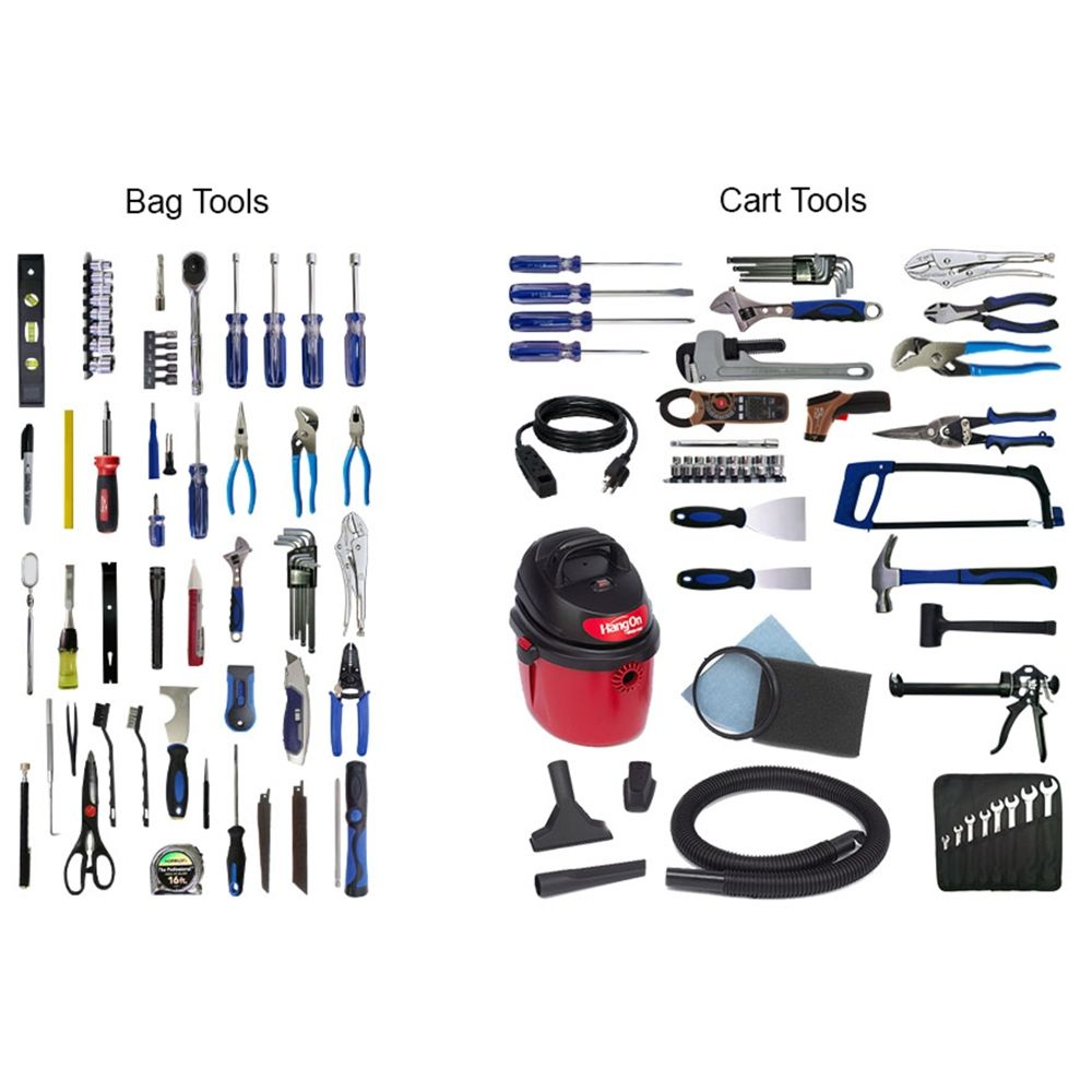 FlexCart® Full Maintenance Engineering Tool Set, 130 Piece (FC-20ETS)