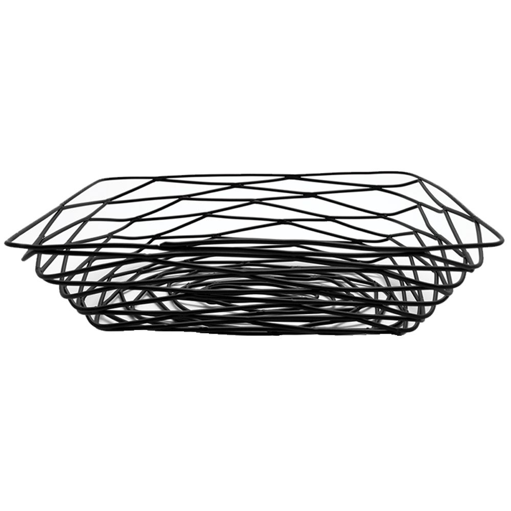 Artisan Wire Mesh Amenity Basket, Black