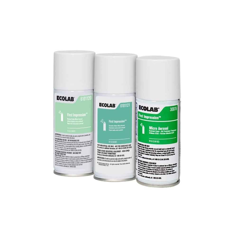 Ecolab® First Impression® Micro Aerosol Air Freshener Variety Pack #6101171