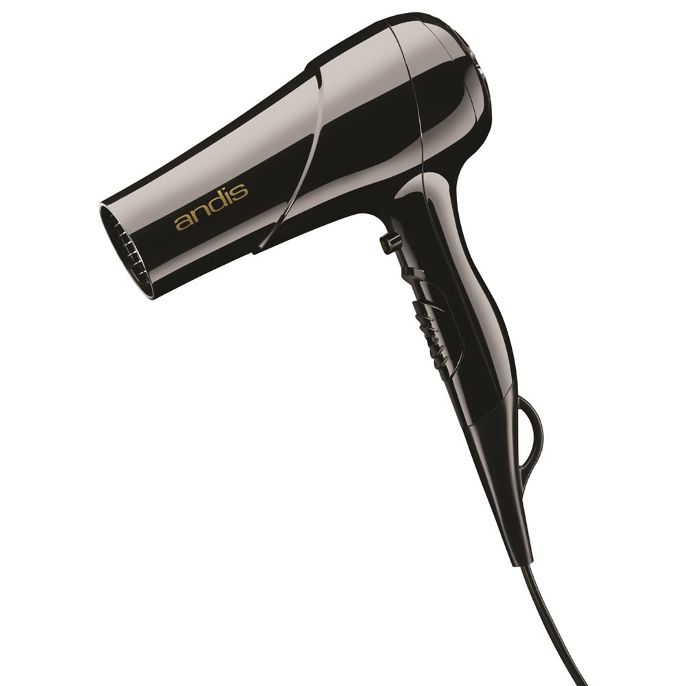 Andis® Tourmaline Ionic Hair Dryer w/ Cool Shot Button, 1875 Watt, Black