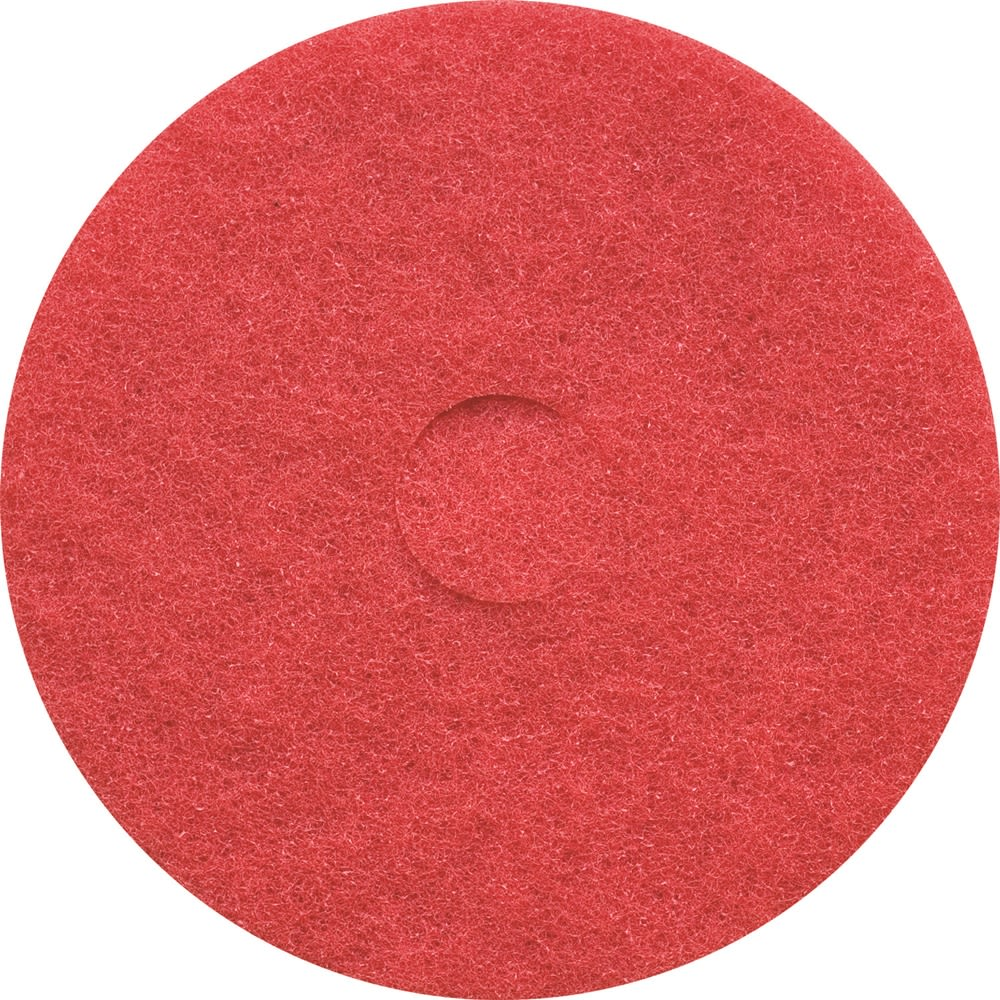 "Buffing Floor Pad, 19"" Red"