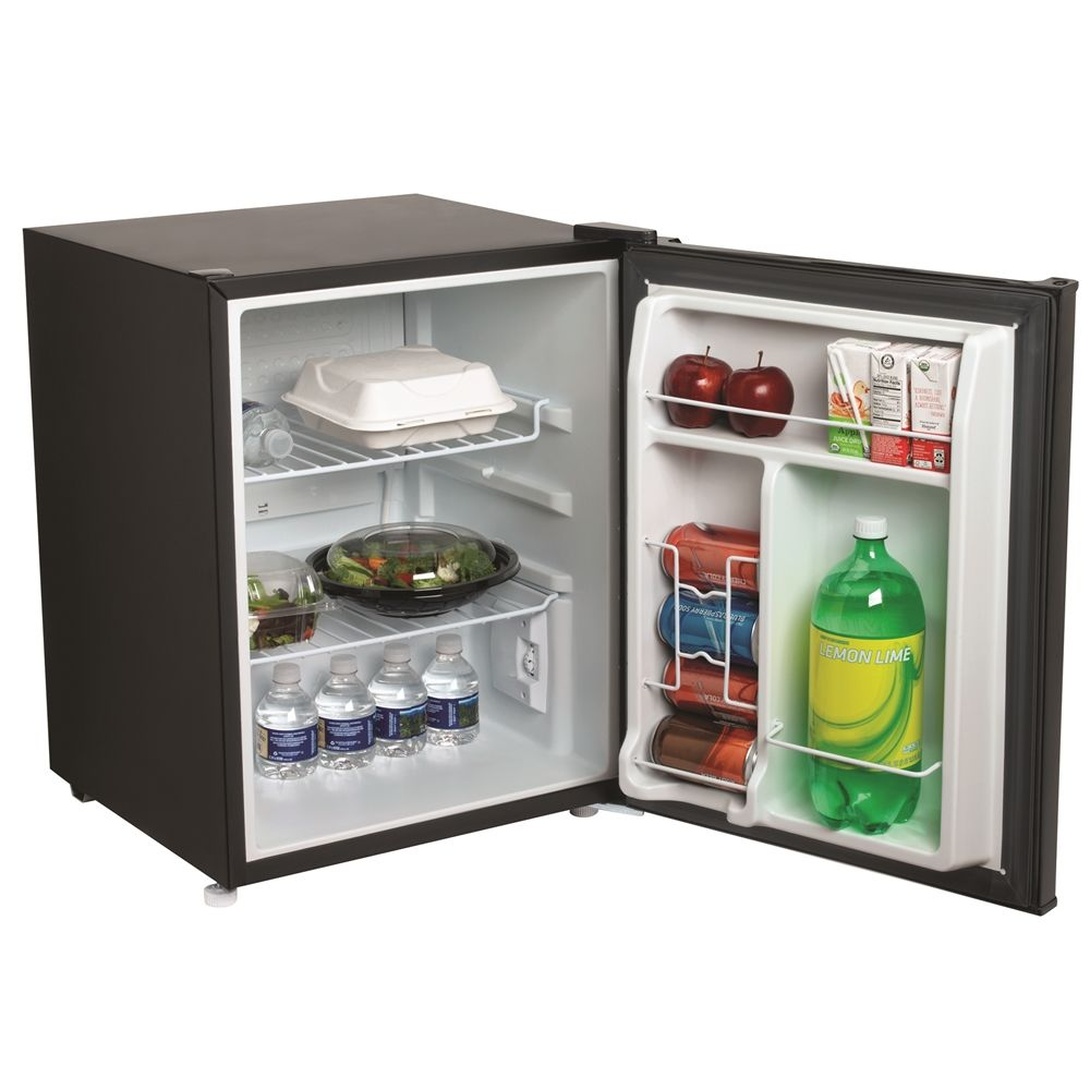 Hamilton Beach Compact All-Refrigerator, 2.5 Cu Ft, Energy Star Rated, Black