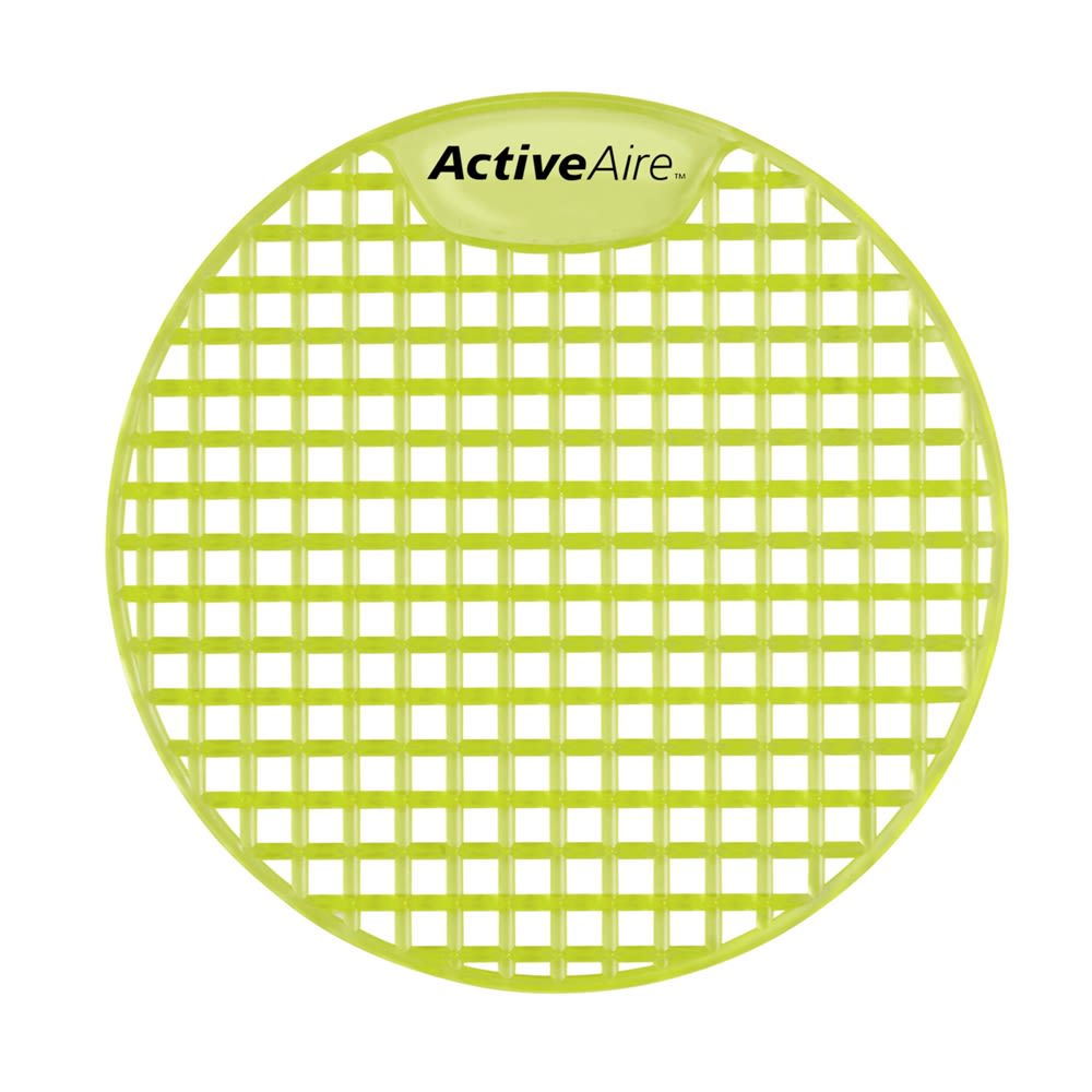 ActiveAire Deodorizer Urinal Screen by GP PRO, Citrus, 12 Screens Per Case