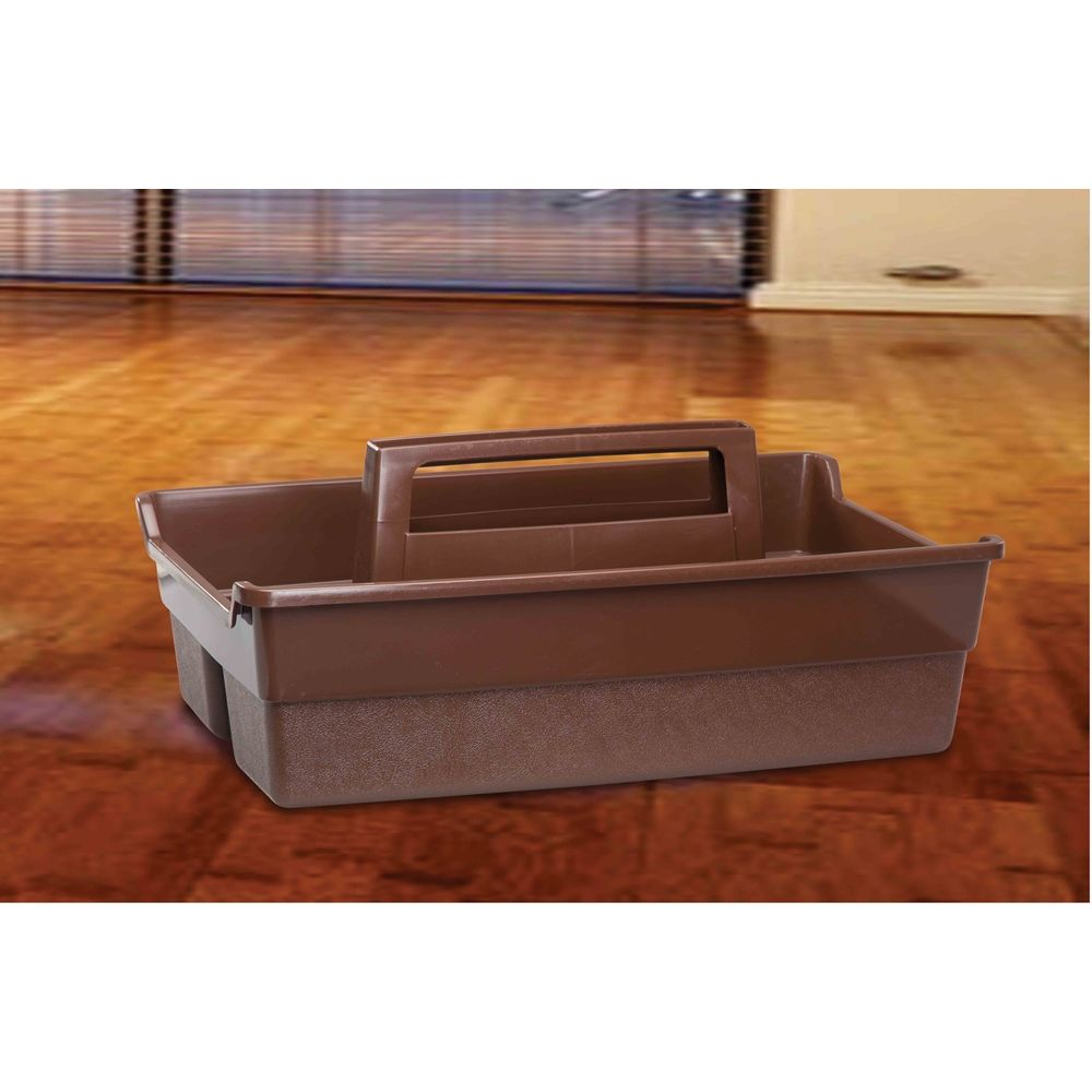 Cleaning Caddy, Brown