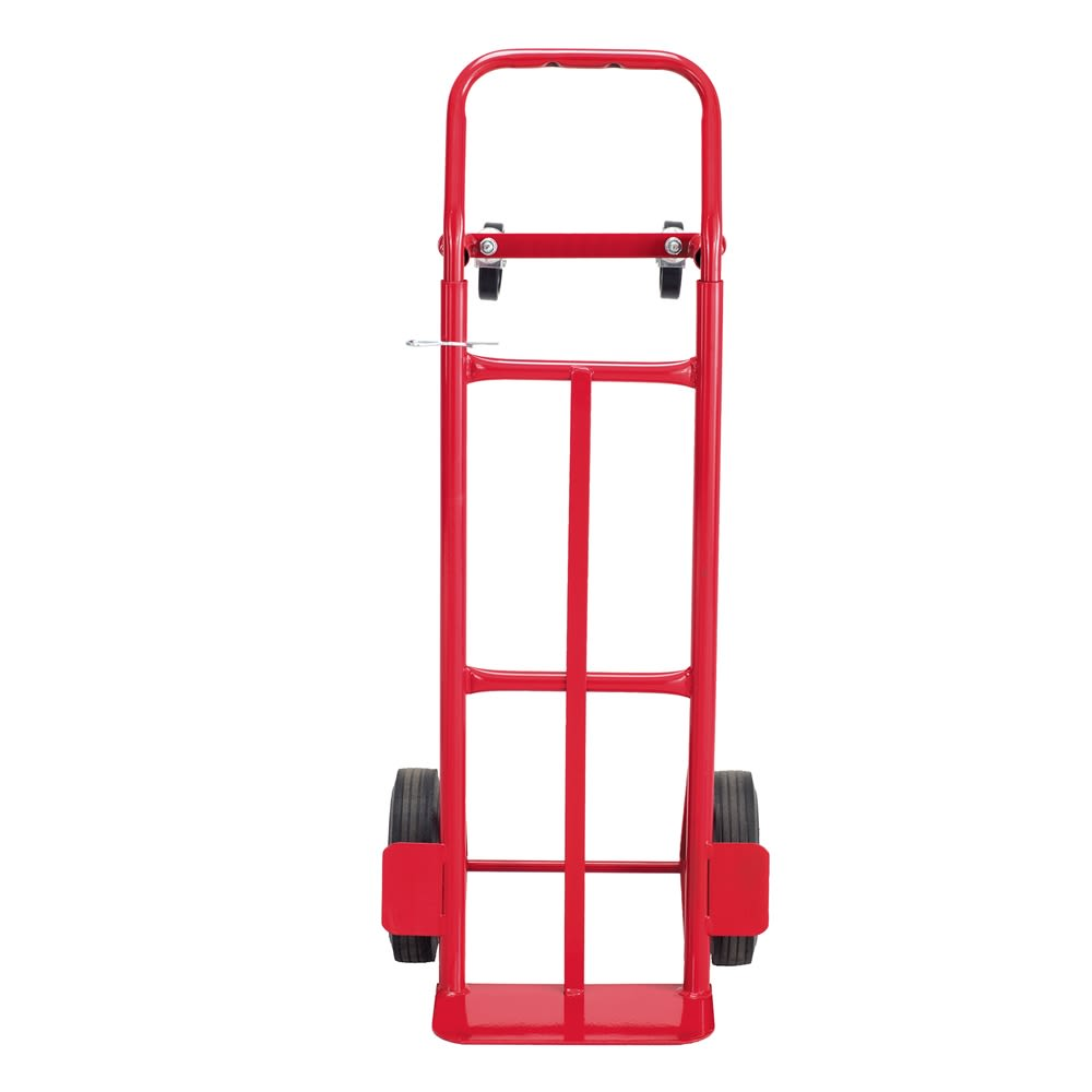Safco® Convertible Heavy-Duty Hand Truck 500-600 lb Capacity Red