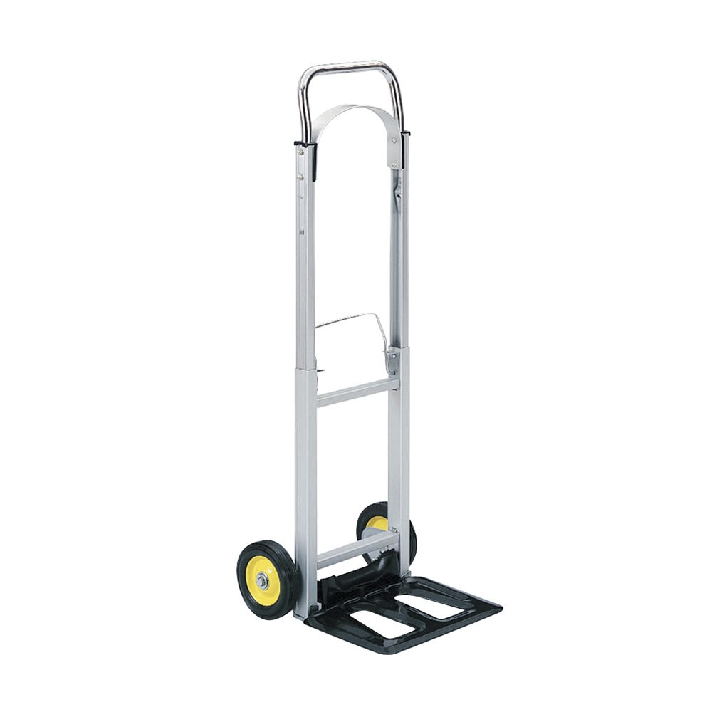 Safco® Hide-Away Collapsible Hand Truck 250 lb Capacity, Aluminum Frame