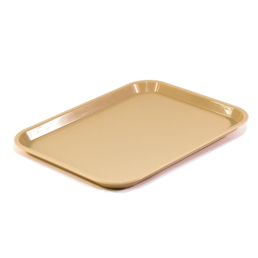 Essential Rectangular Tray with Round Corners, Beige