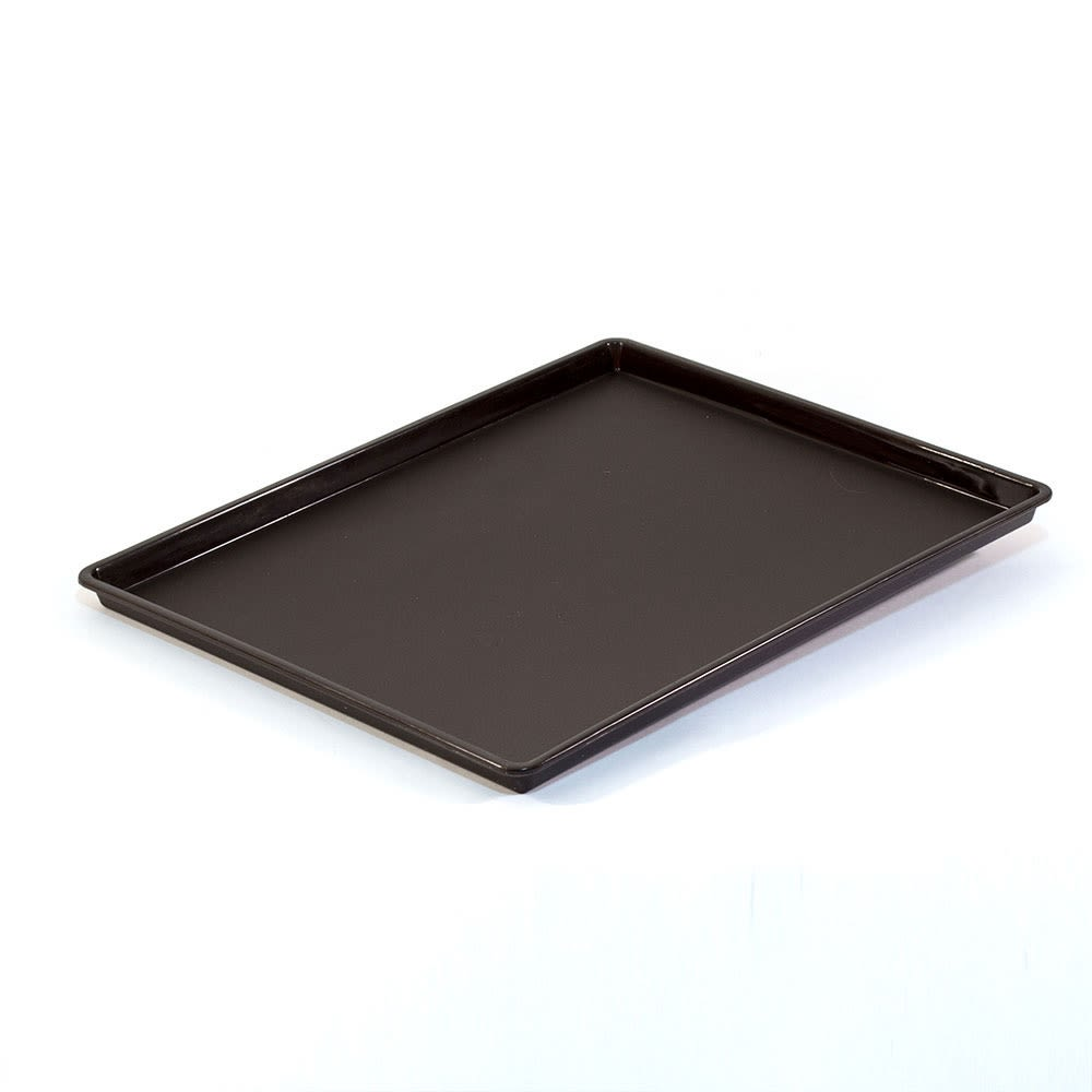 Essential Rectangular Tray with Square Corners, Walnut