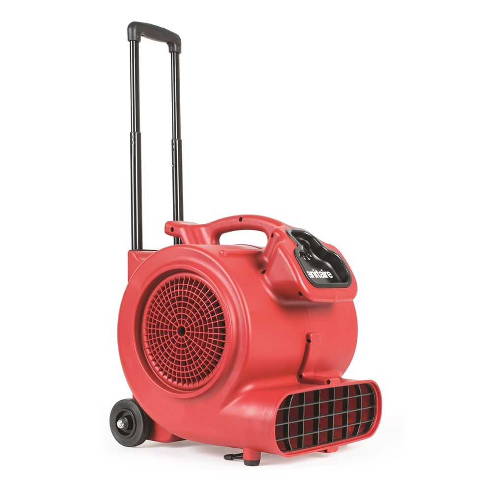 Sanitaire® Dry Time® Air Mover, 3-Speed Settings, 3-Operating Positions, Lightweight, Stackable