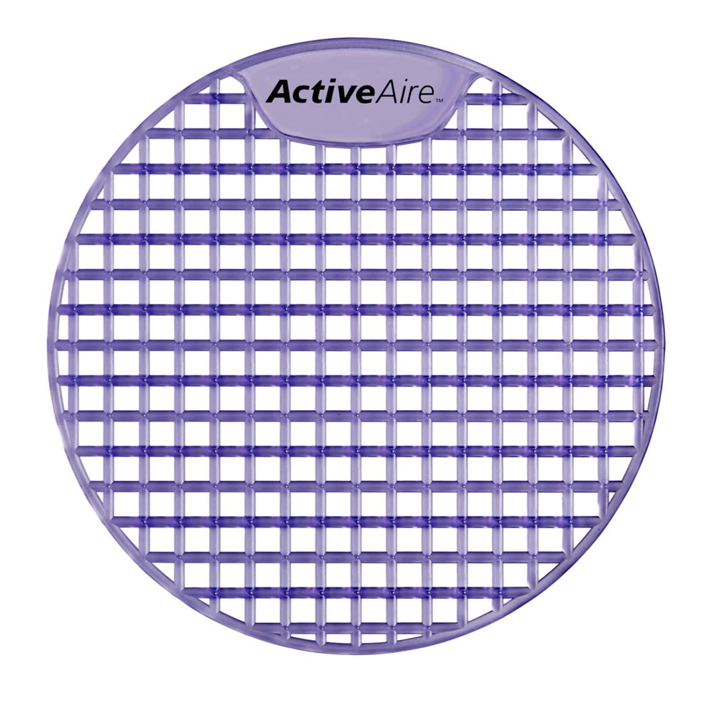 ActiveAire Deodorizer Urinal Screen by GP PRO, Lavender, 12 Screens Per Case
