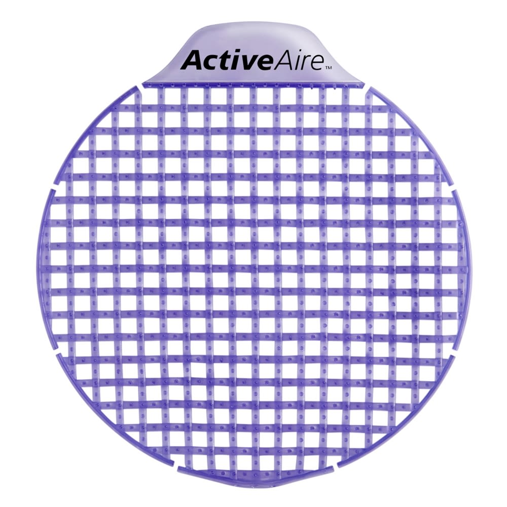 ActiveAire Low-Splash Deodorizer Urinal Screen by GP PRO (Georgia-Pacific), Lavender