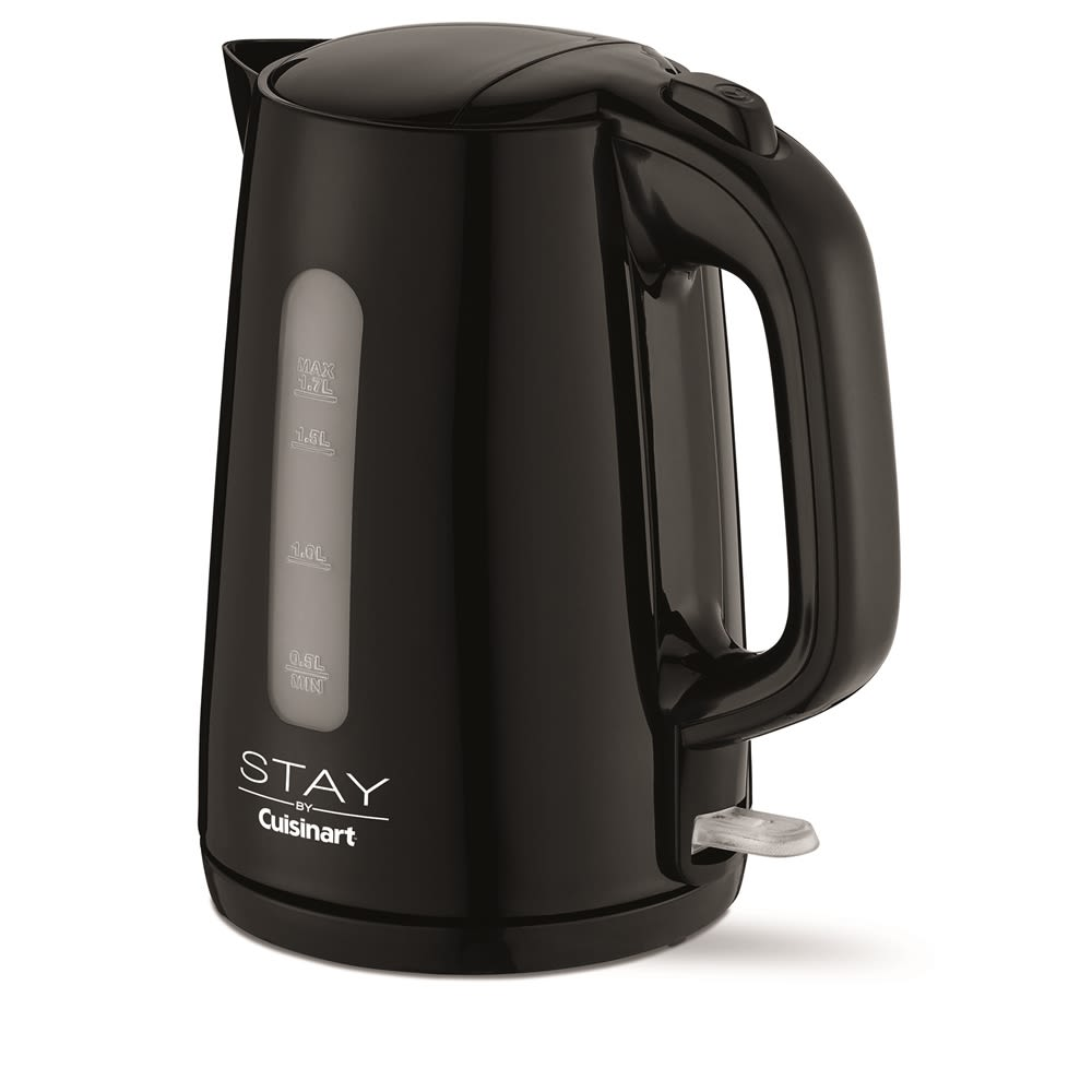STAY by Cuisinart Electric Cordless Kettle, 1.7 Liters, Black