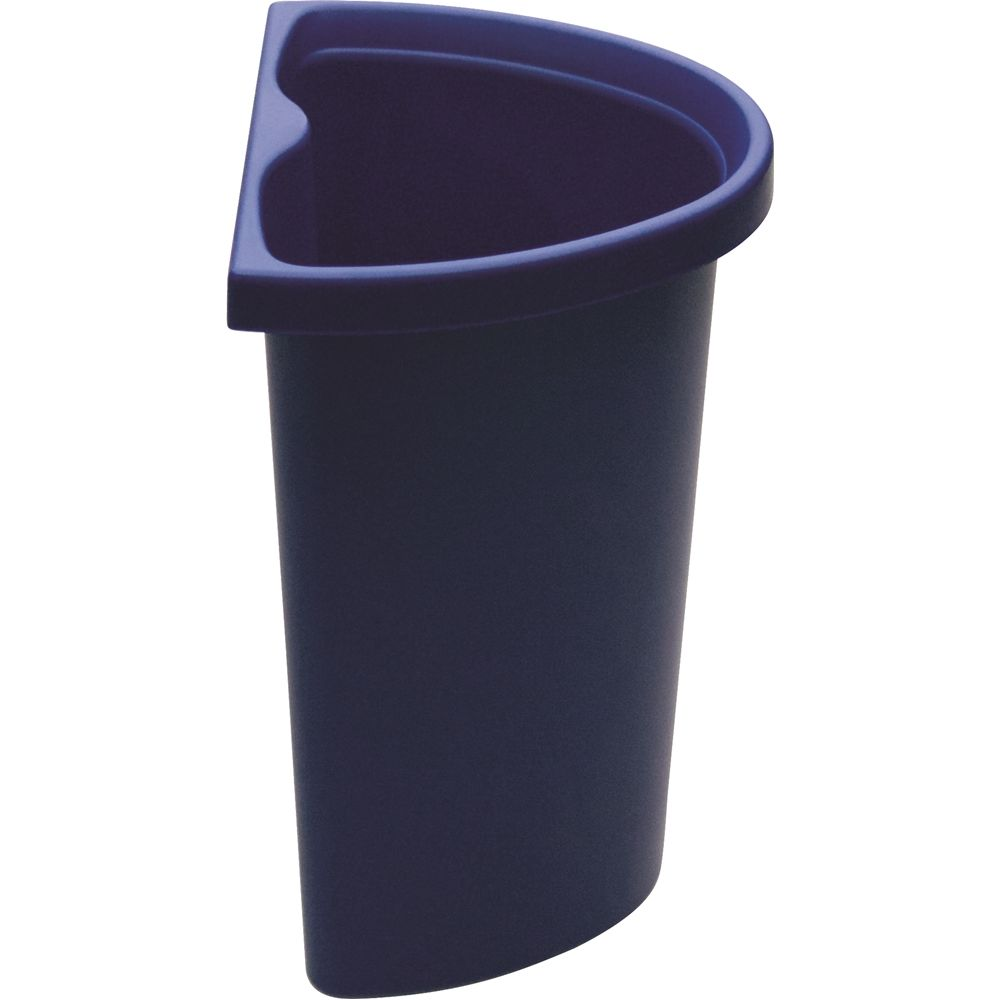5 Quart Recycle Insert/Vanity Wastebasket, Blue