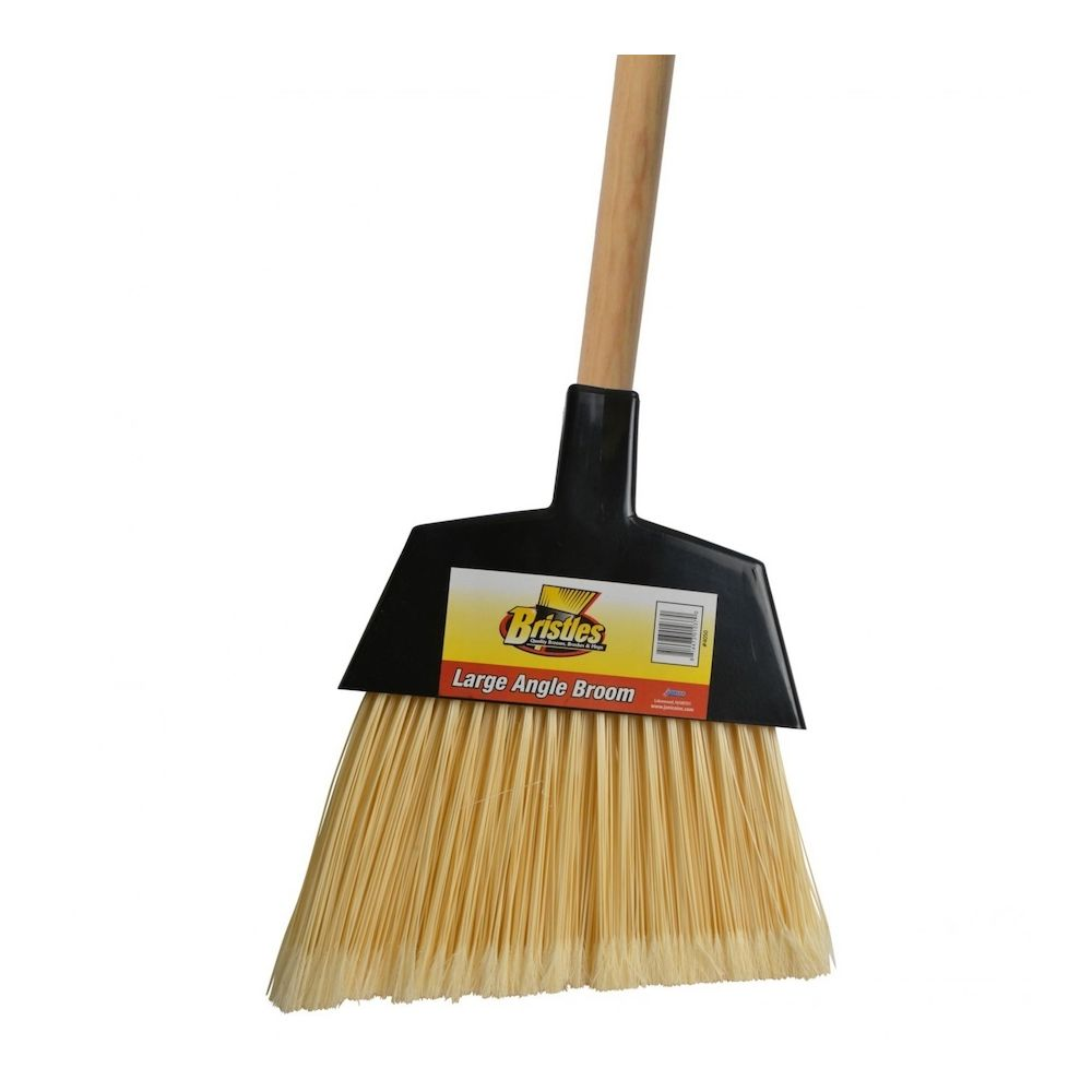 Bunzl Distribution® 48 In. Large Angle Broom With Wood Handle