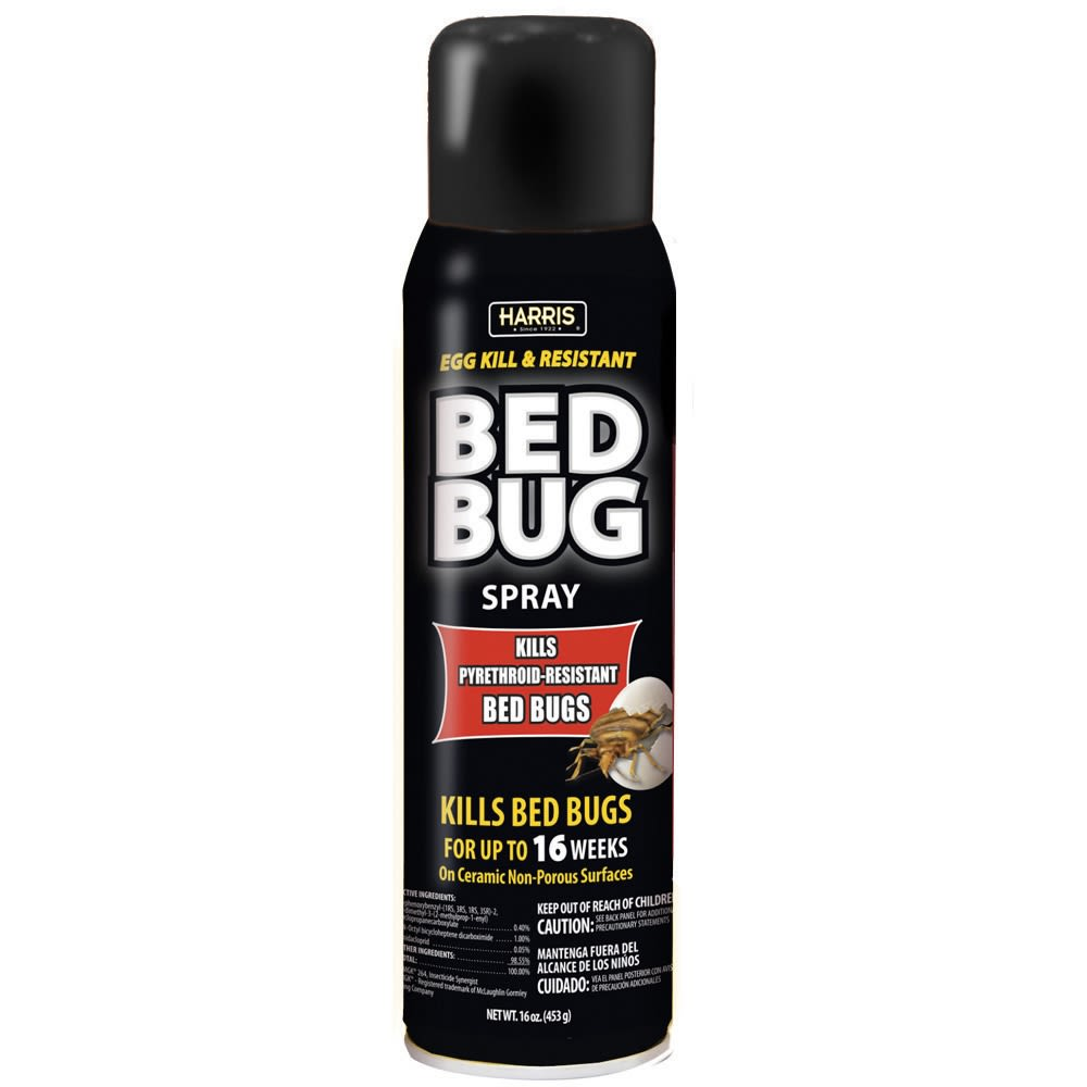 Harris Egg Kill & Resistant Bed Bug Killer Spot Treatment 16 oz