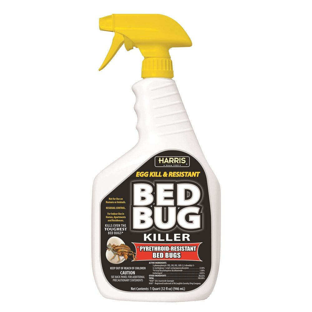 Harris® Egg Kill & Resistant Bed Bug Killer 32 oz