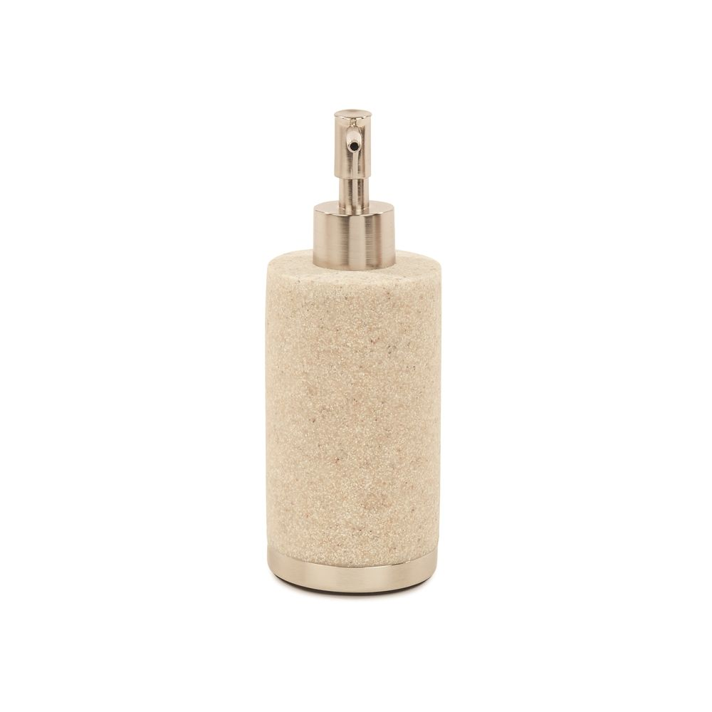 Alistaire Collection Sandstone Resin Soap Pump, Sand