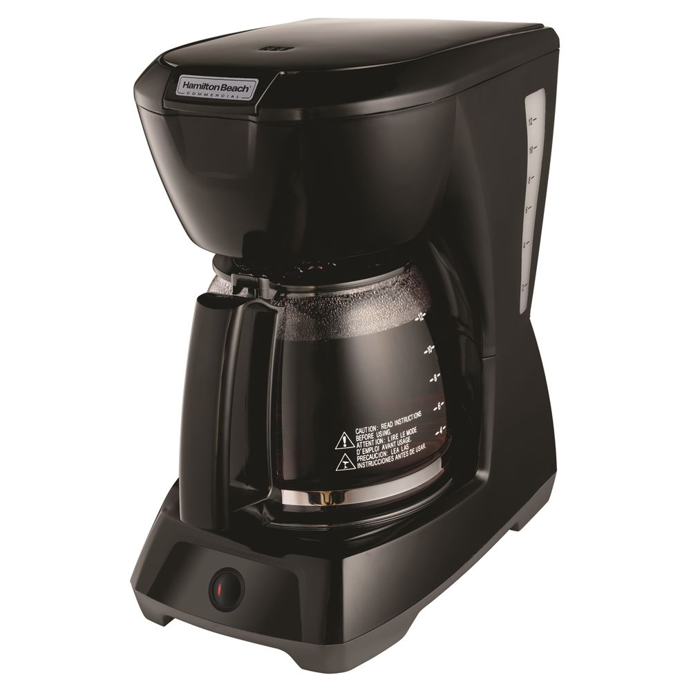 Hamilton Beach Commercial 12-Cup Coffeemaker, Black