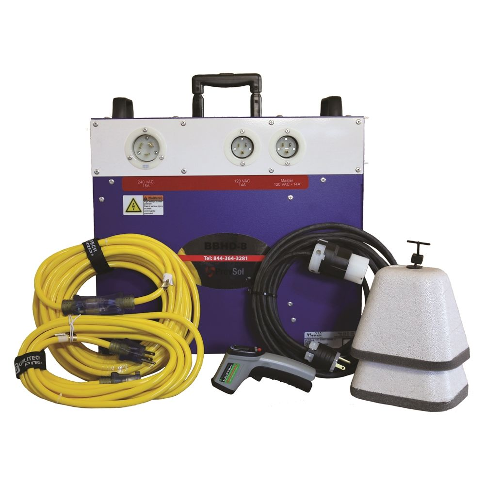 Bed Bug Heat Doctor® Prevsol Hotel Bed Bug Heater System