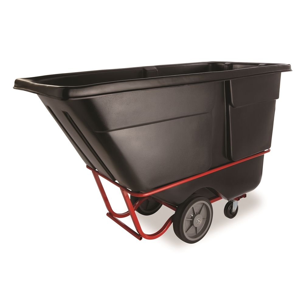 Rubbermaid® 1 Cubic Yard Tilt Truck, Heavy-Duty (Rotational Molded)