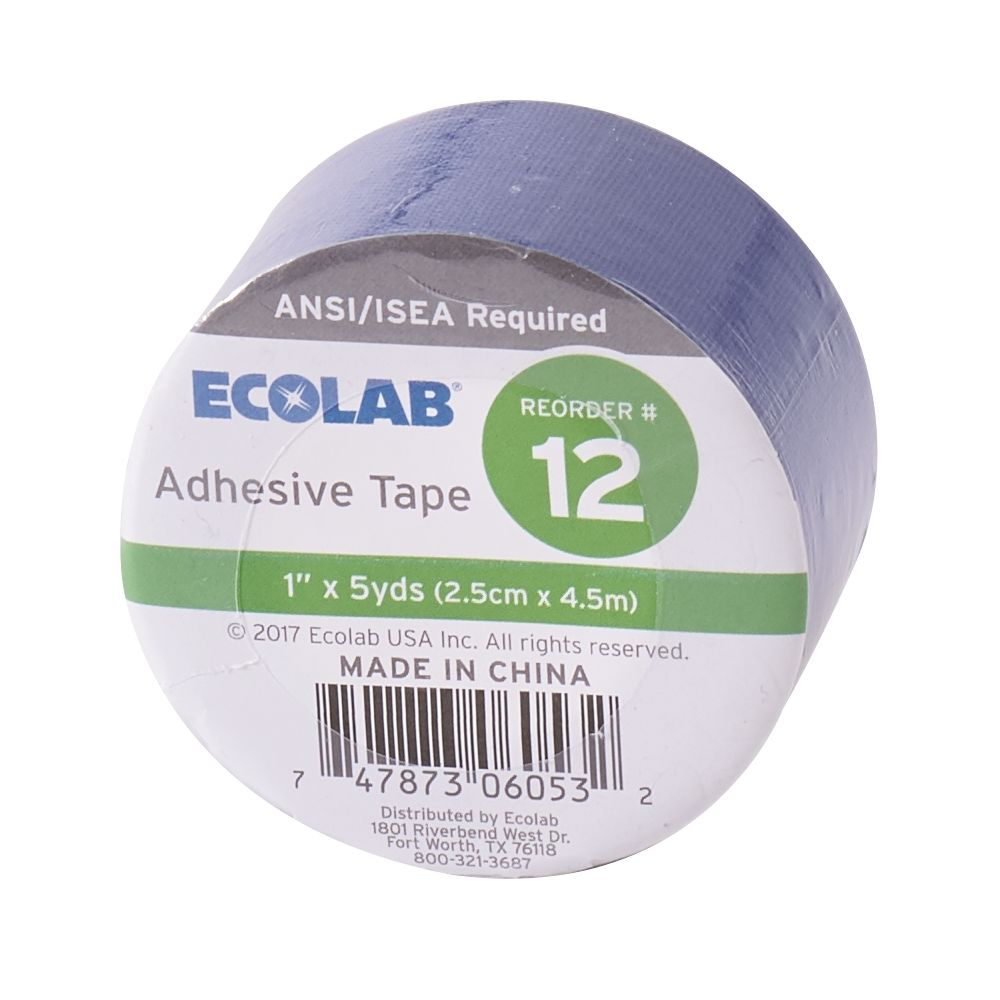 Ecolab® Adhesive Tape 1 in. x 5 yards, 1 Roll, 50225-01-02 Reorder No. 12