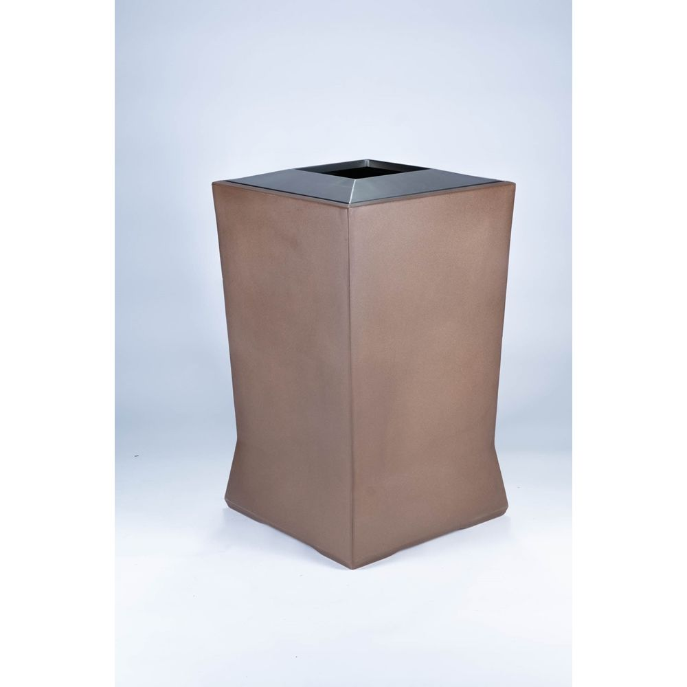 Commercial Zone® ModTec Series® 39 Gallon Waste Container, Large, Old Bronze