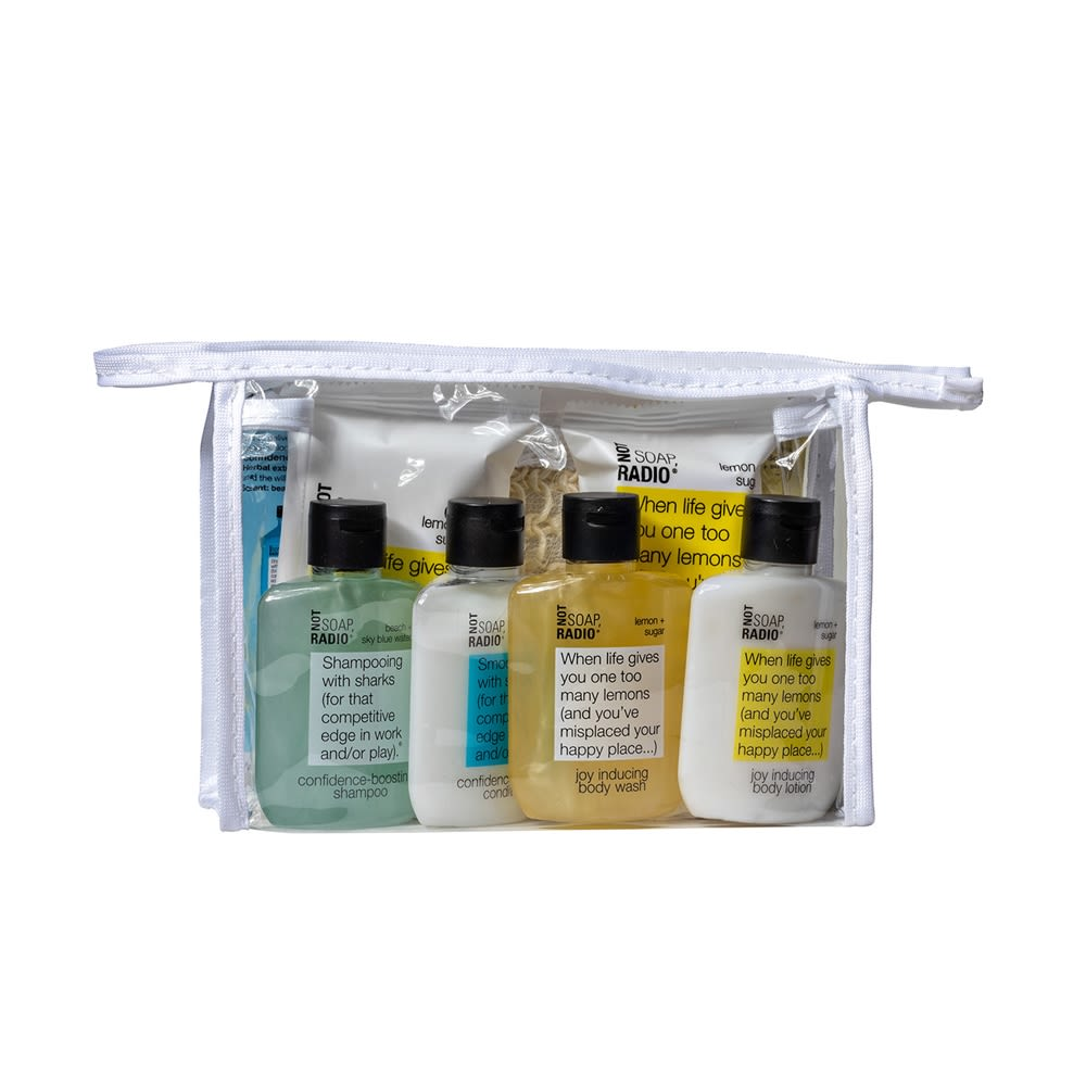 Not Soap Radio Gift Set in Pouch