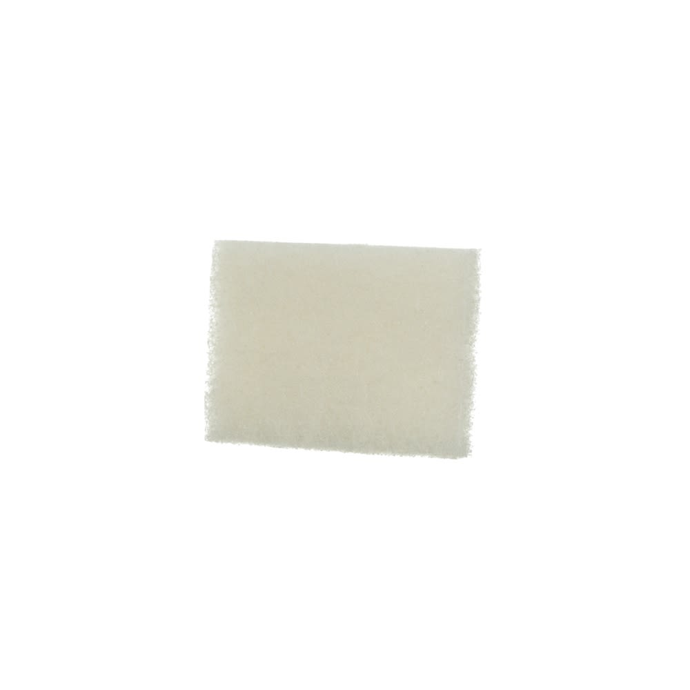 3M Corporation® Scotch-Brite® Light Duty Scrubbing Pad, 3.5 x 5, White