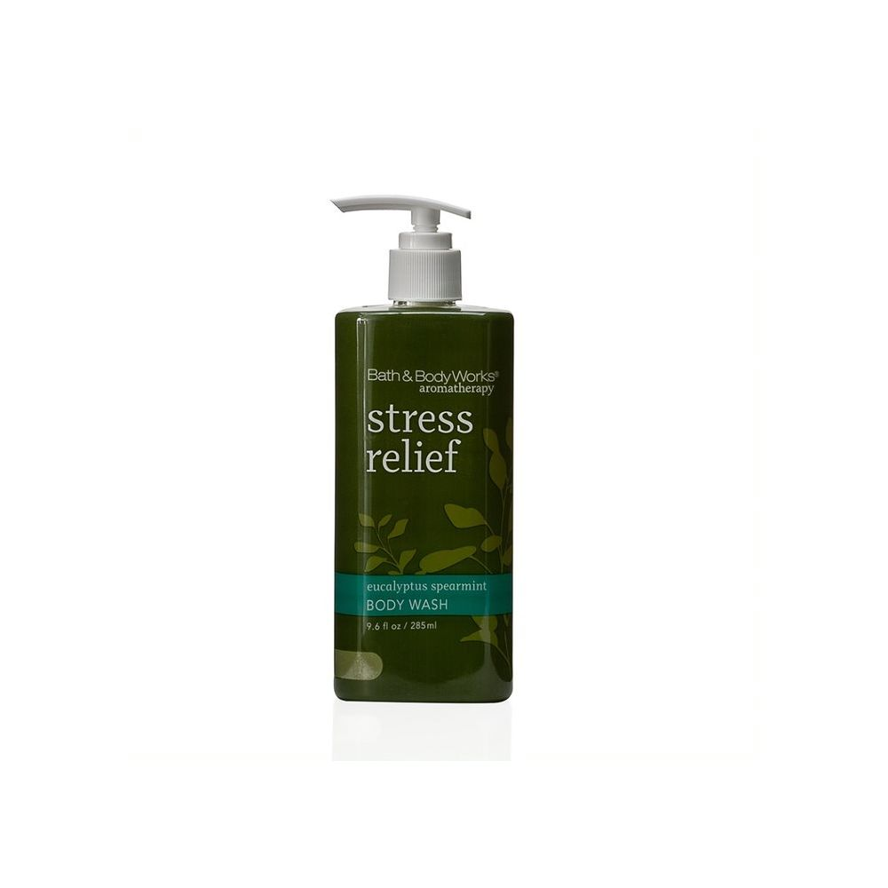 Bath & Body Works Stress Relief Body Wash Dispenser 9.6oz/285ml