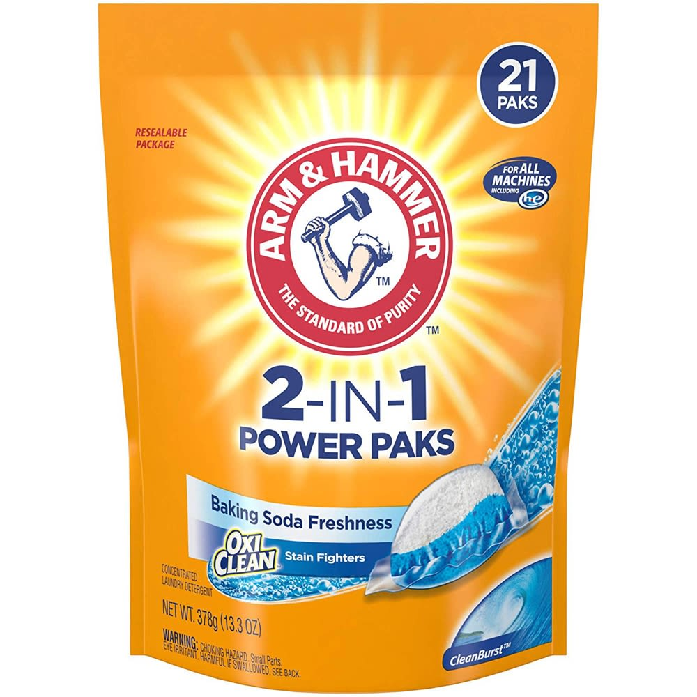 Arm & Hammer OxiClean, 2-In-1 Power Paks