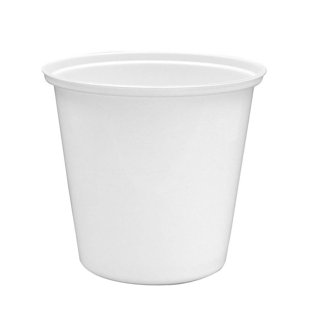 2 Quart Ice Bucket Replacement Liner, White