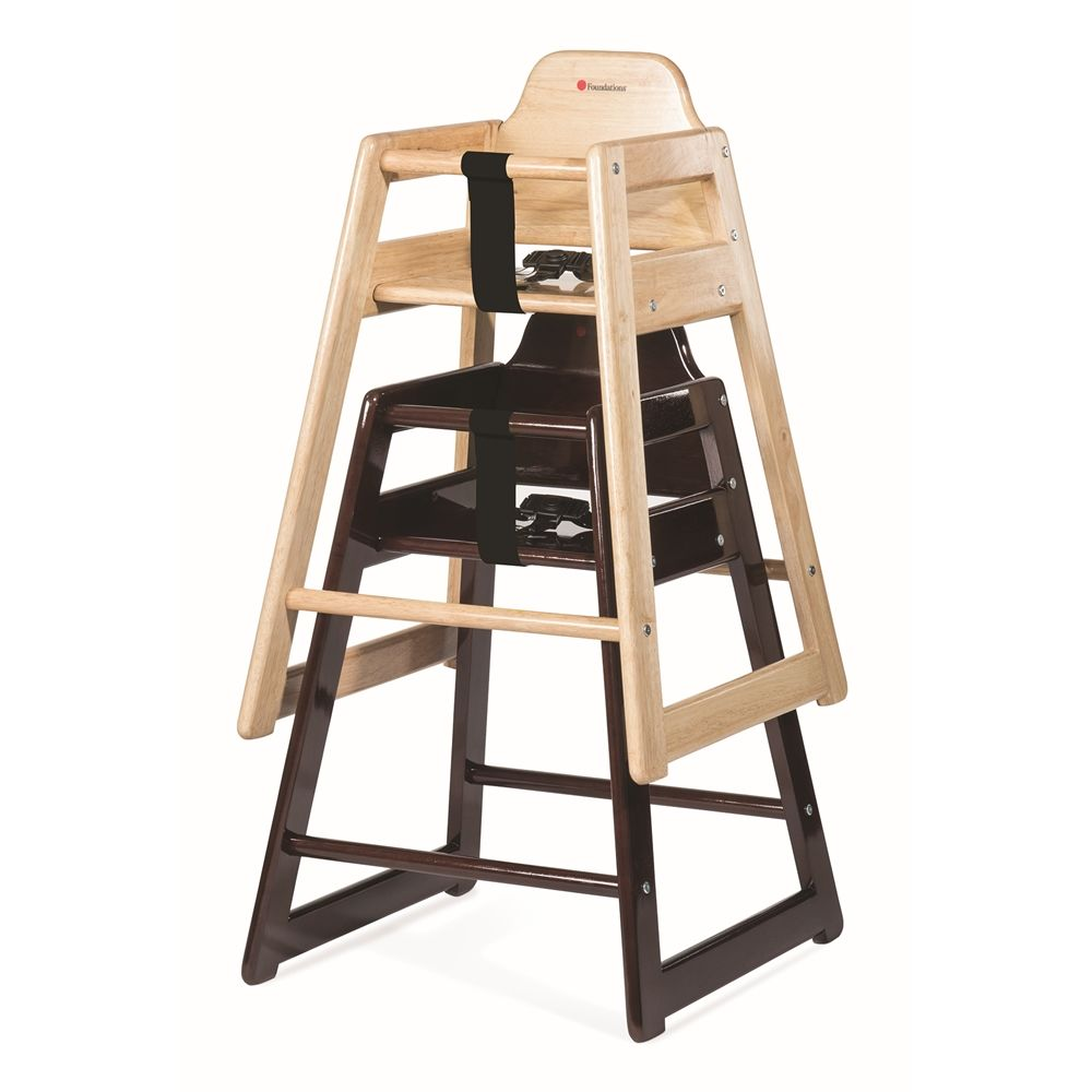 Neat Seat Hardwood High Chair, Natural