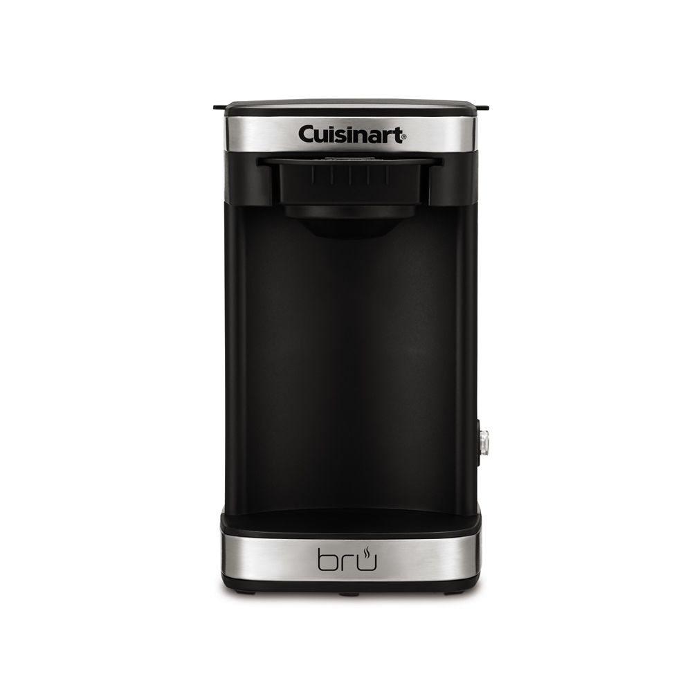 Cuisinart W1CM5SX Bru 1-Cup Coffeemaker, Black and Stainless Steel
