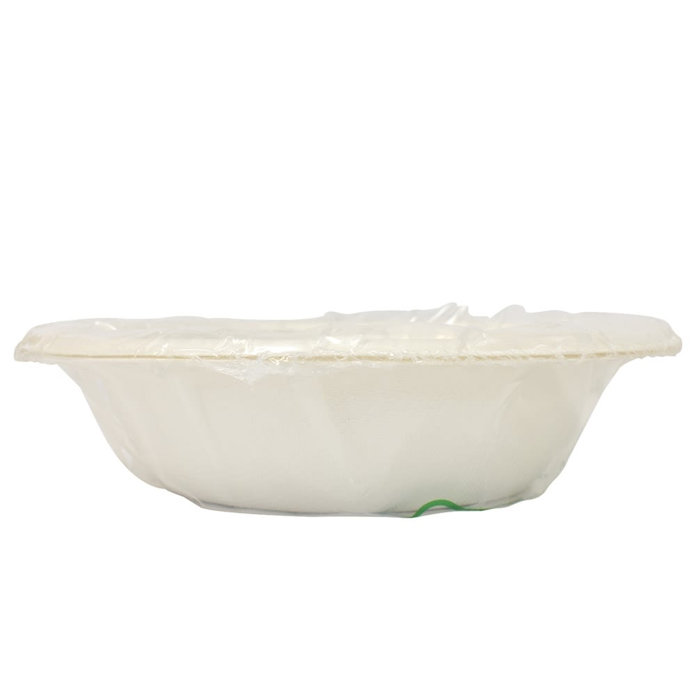 12oz Wrapped Paper Bowl, 2 Plates Per Pack
