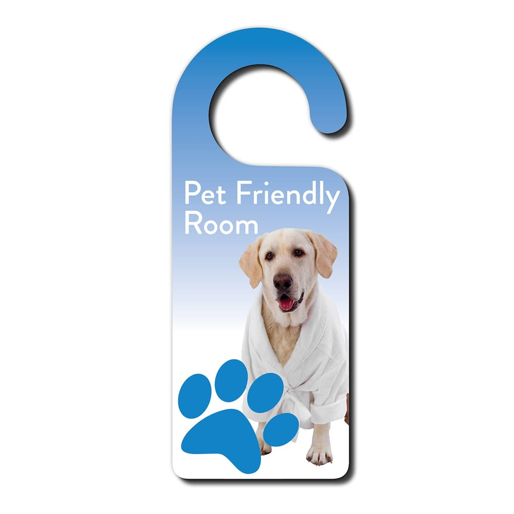 Pet Friendly Custom Pet Door Hanger