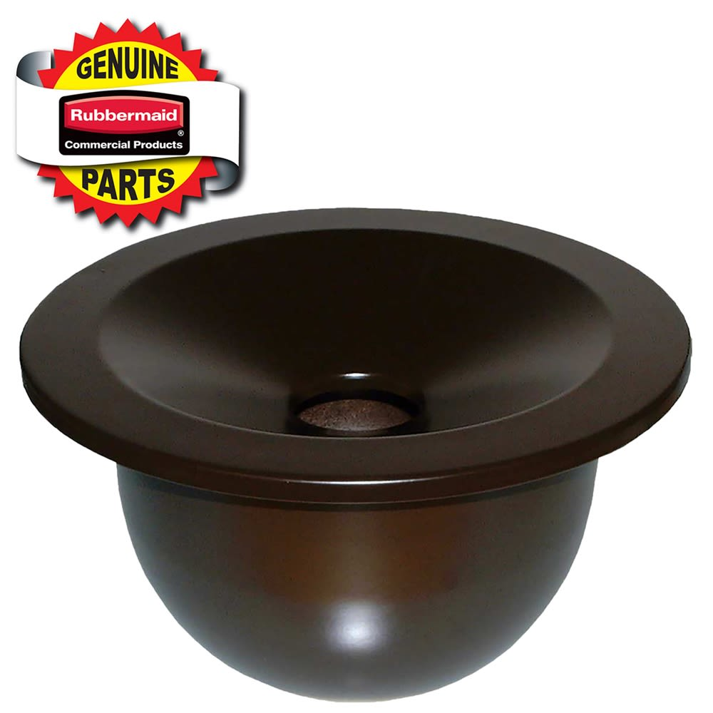 Rubbermaid® Ash Tray for Landmark® Dome Top Container, Sable