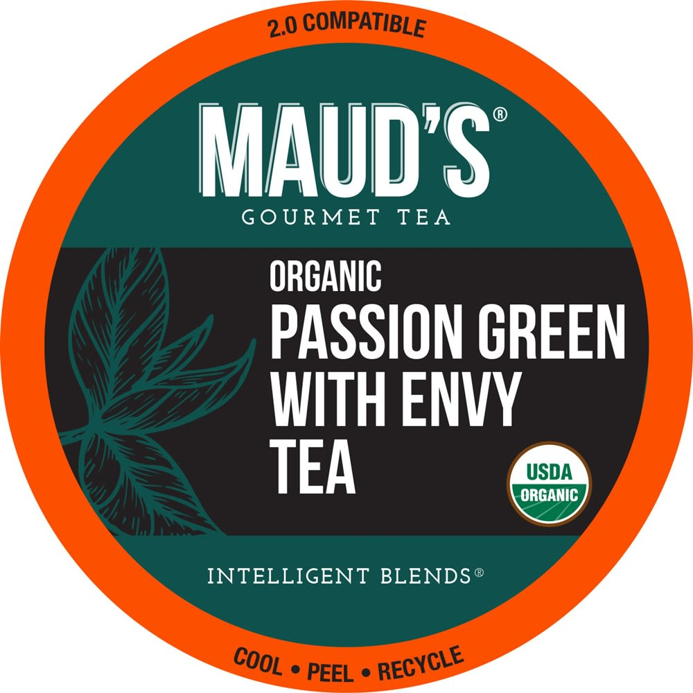 Maud's Organic Green Tea Single Serve Capsule