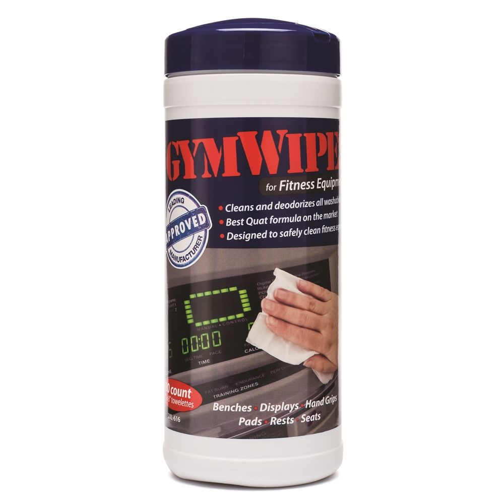2XL-616 GymWipes for Gym Equipment, 6 Canisters Per Case