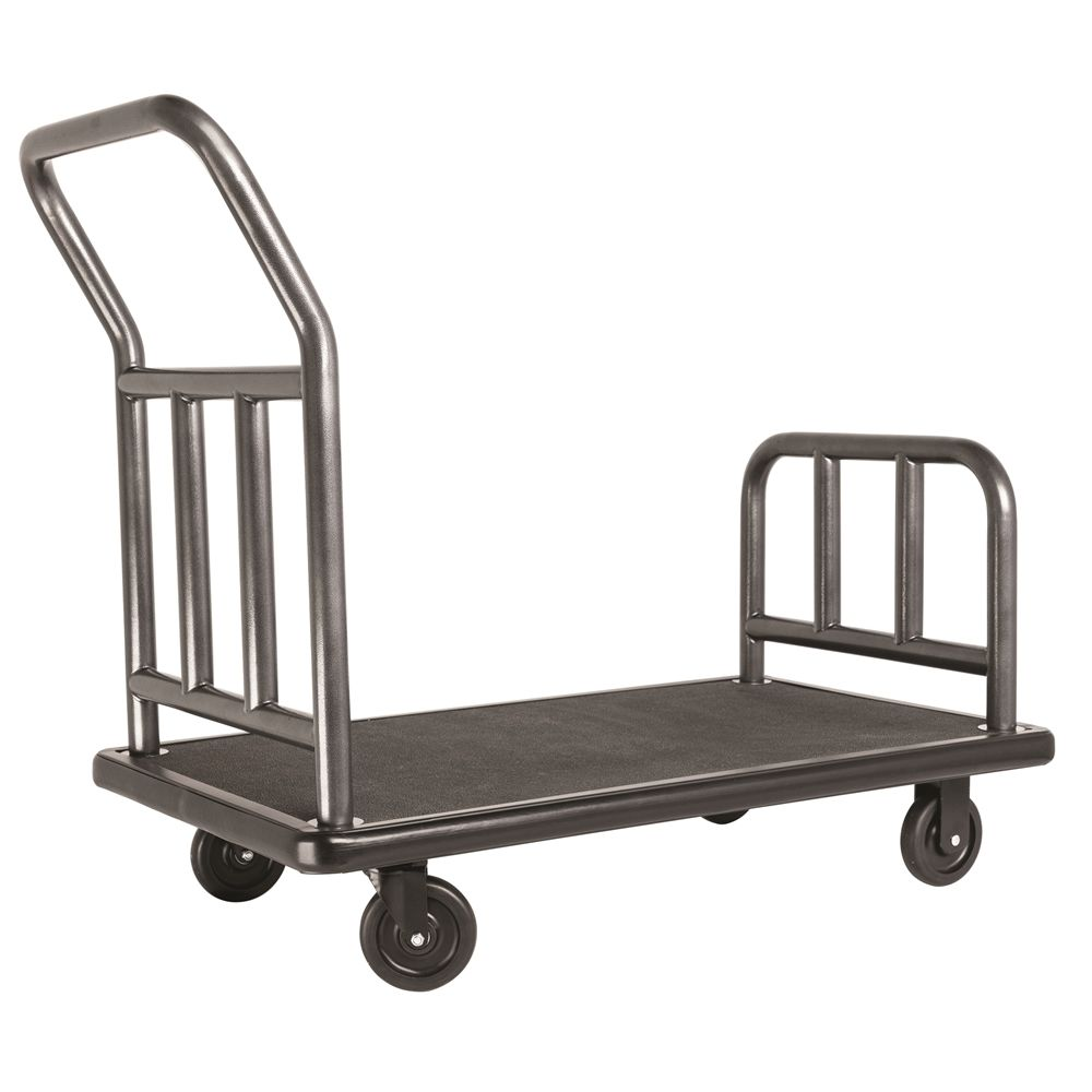 "Coastal Utility Cart, 25""W x 42""H x 43""L, Stainless Steel w/ Rust Resistant Coating"