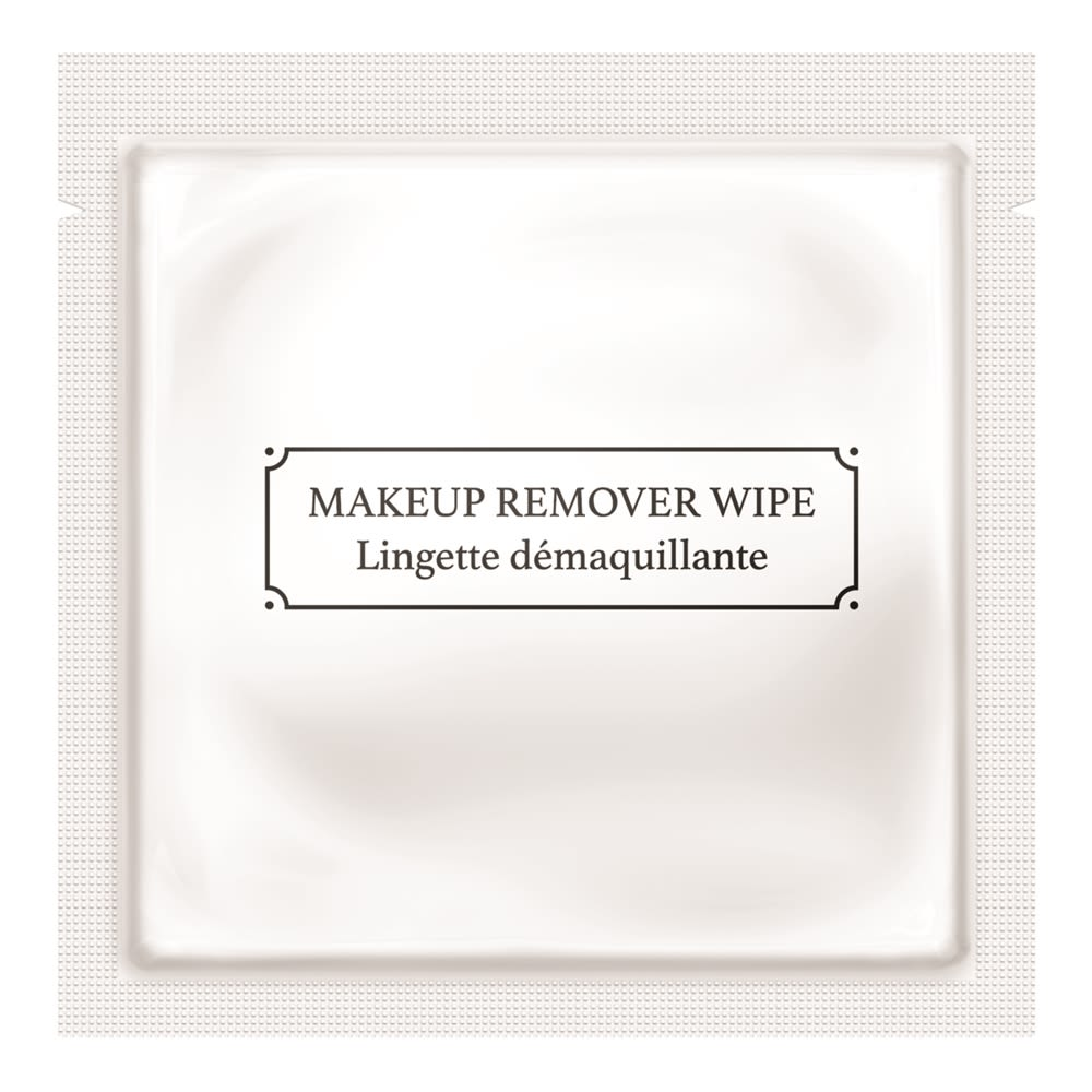 La Fresh White Packet Biodegradable Substrate Make Up Remover Wipe