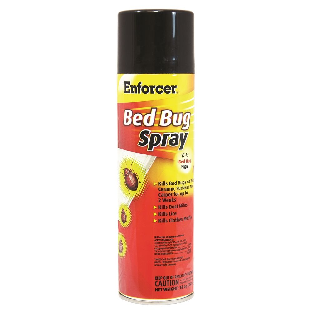 Enforcer Bed Bug Spray & Insect Killer, 14oz.