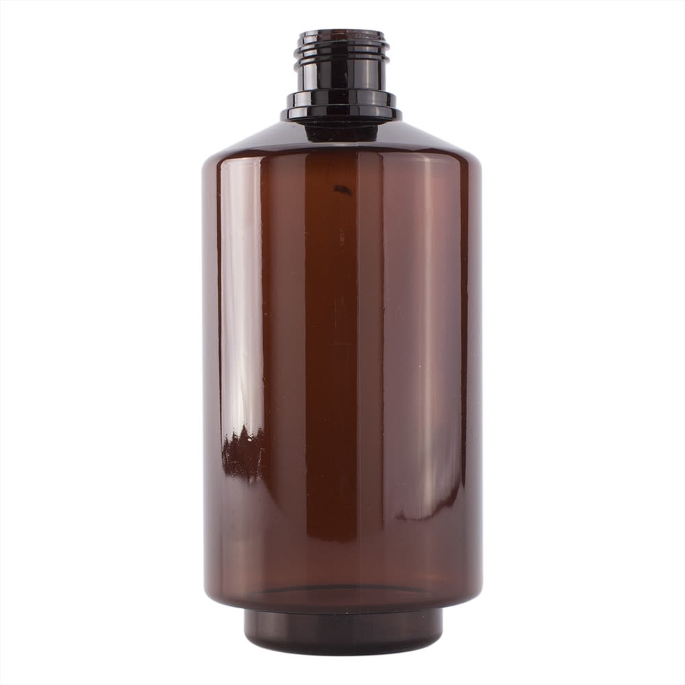 Easy-Fill Dispenser Bottle Amber Blank 300ml - Empty, No Pump