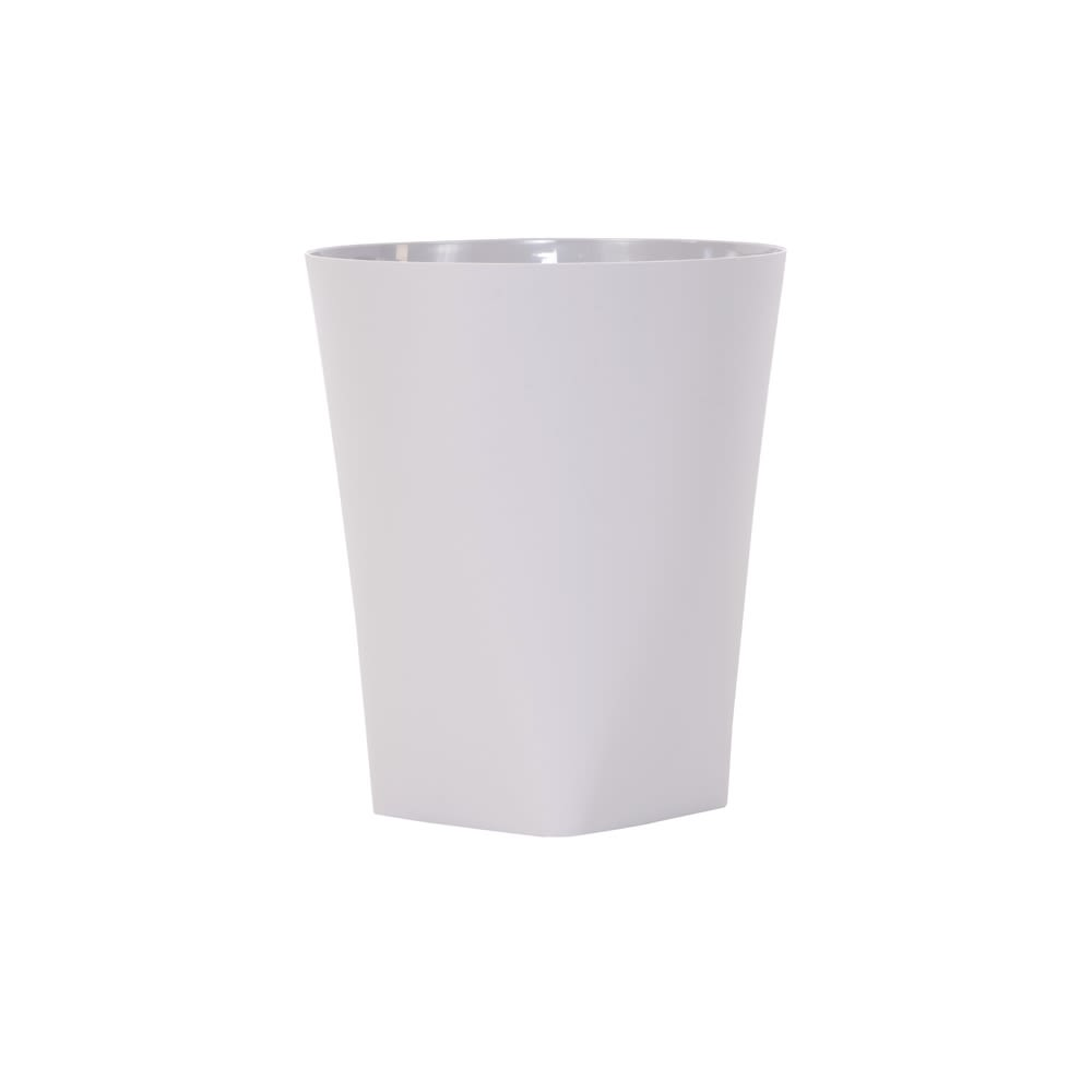 Certified Green Eco Contour Collection 8 Quart Wastebasket, Greige
