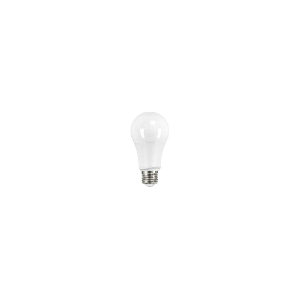 Satco 9.5W A19 LED Light Bulb with Medium Base, 2700K, 120V, Frosted, Warm White