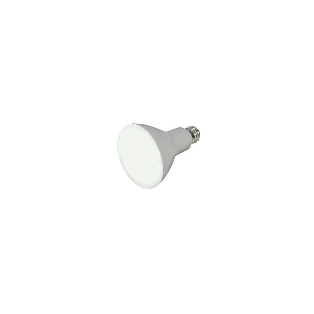 Satco 9.5W BR30 Dimmable LED Light Bulb with Medium Base in Frosted/Soft White
