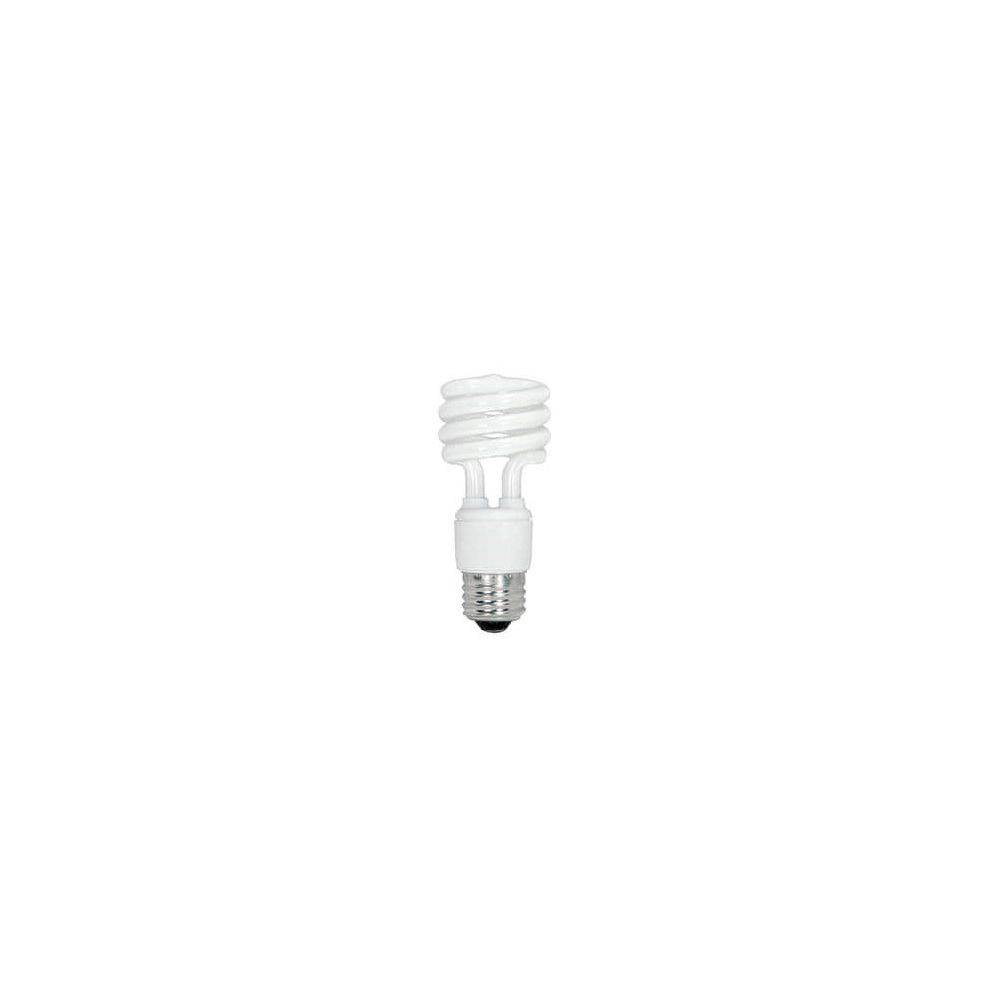 Satco 13W T2 Compact Fluorescent Light Bulb with Medium Base