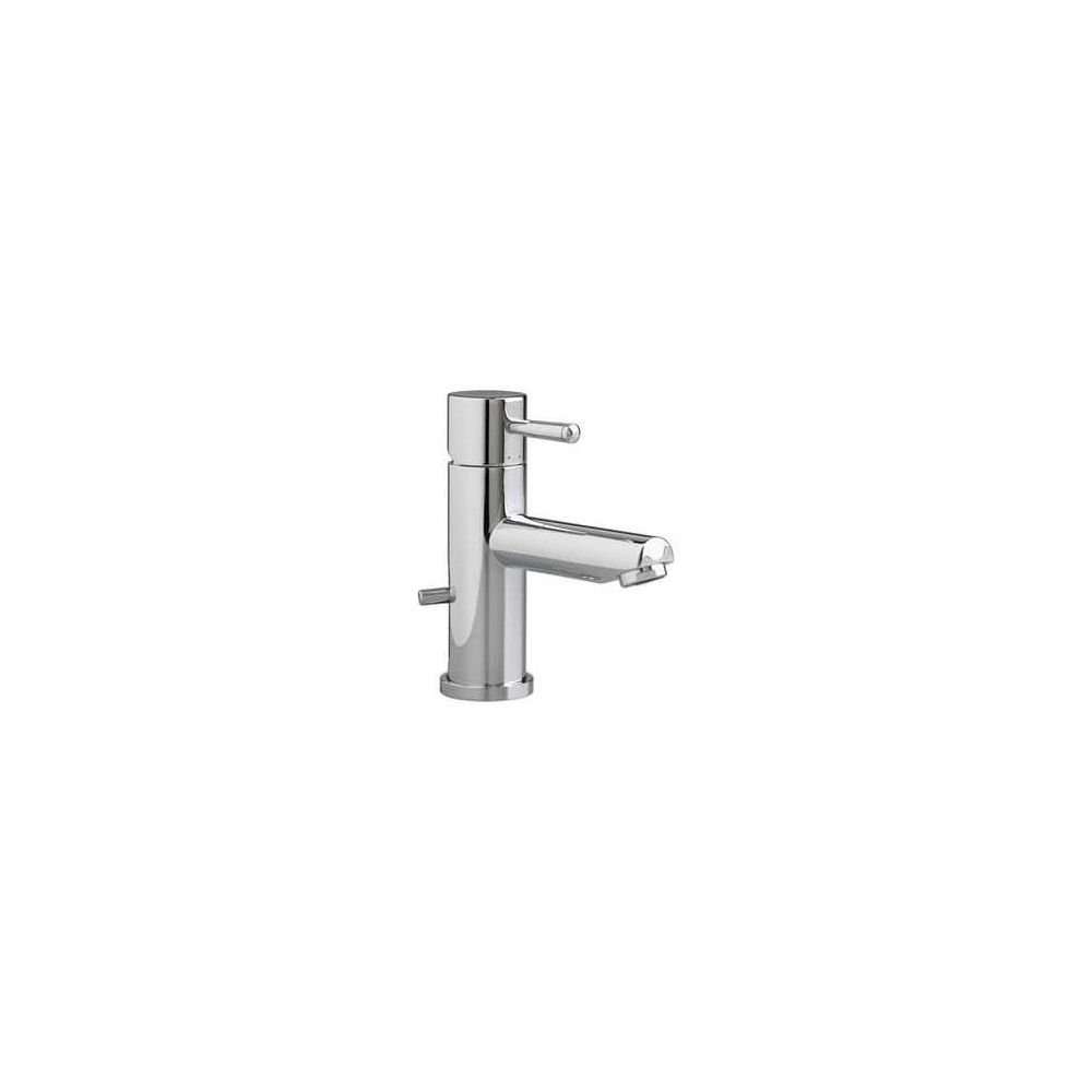 American Standard Serin® Single Handle Monoblock Bathroom Sink Faucet in Polished Chrome