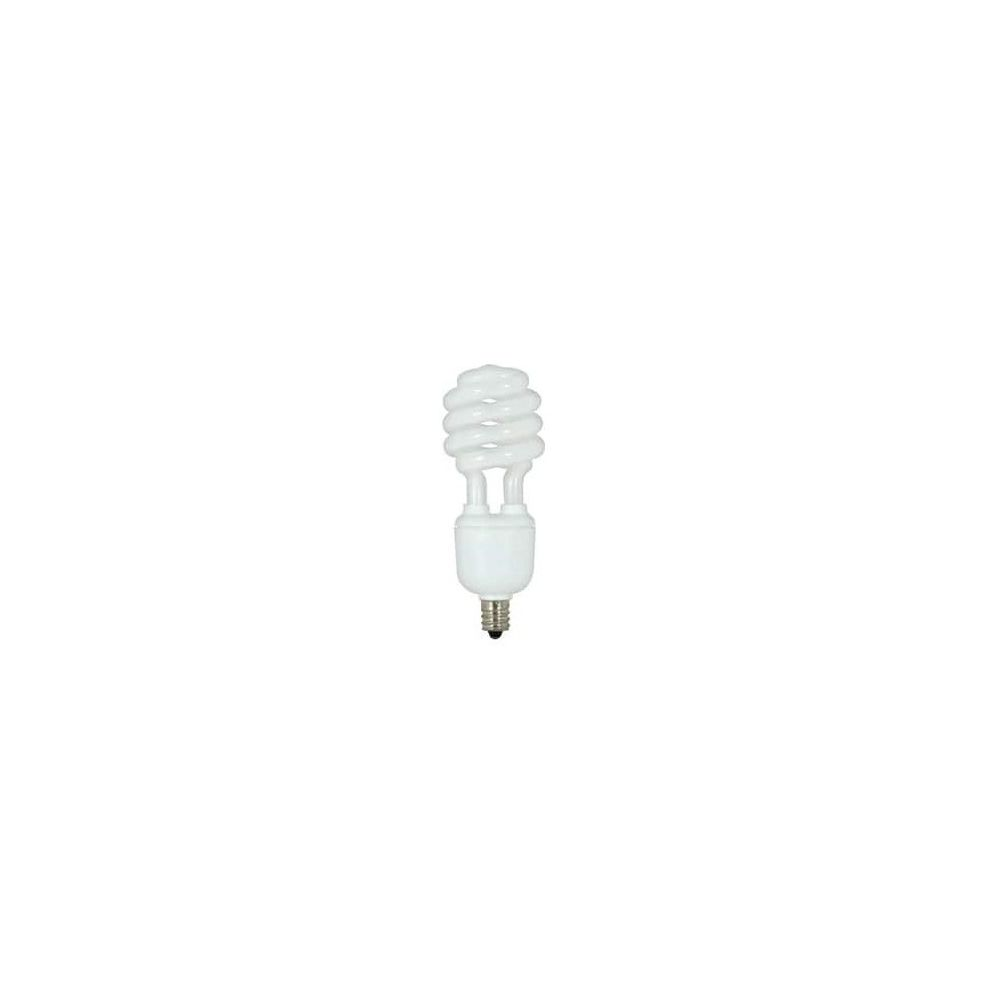 Satco 13W T2 Compact Fluorescent Light Bulb with Candelabra Base